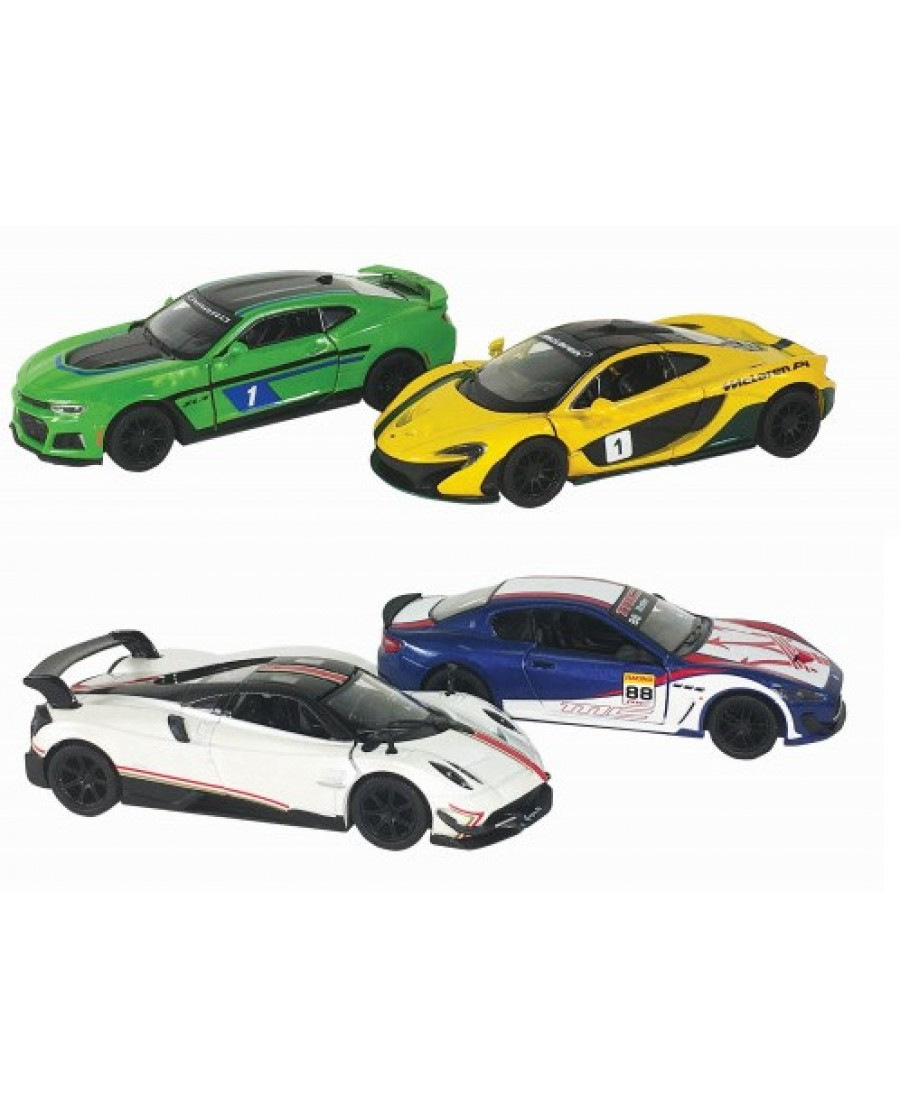 "4.5"" Exotic Racing Cars"