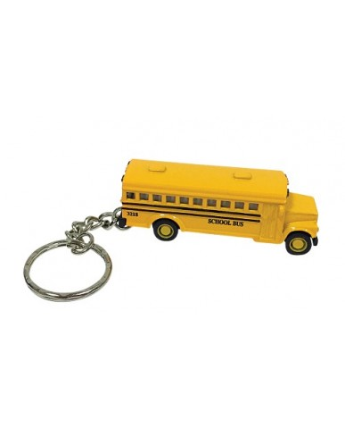 "2.5"" Die Cast Classic School Bus Key Chain"