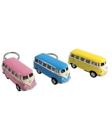 """2.5"""" Die Cast Pastel Classic VW Bus Key Chain"""