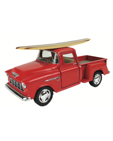 "5"" 1955 Chevy Stepside w/ Surf Board"