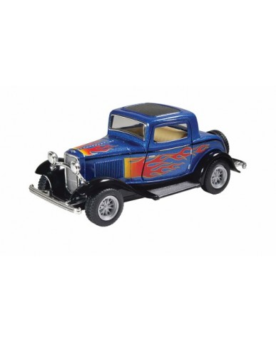 "5"" 1932 Ford 3 Window Coupe with Flames"