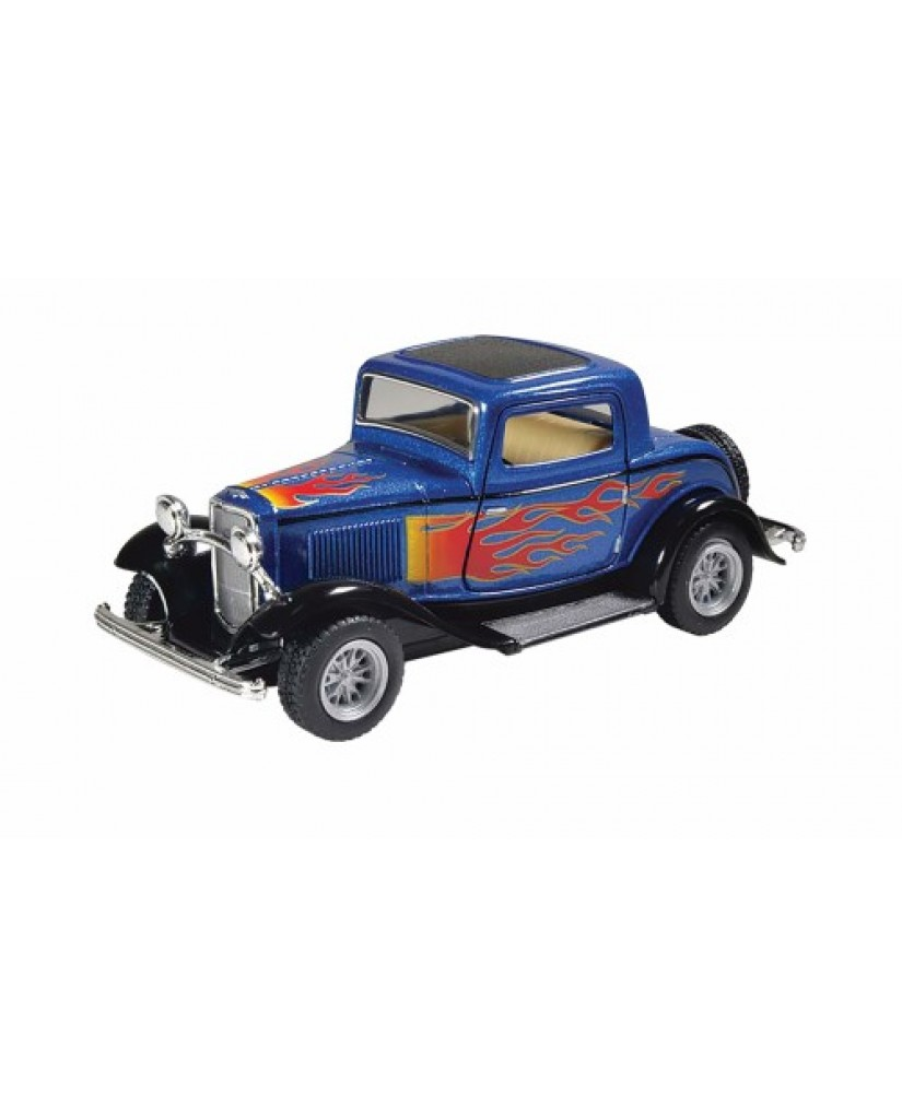 """5"""" 1932 Ford 3 Window Coupe with Flames"""