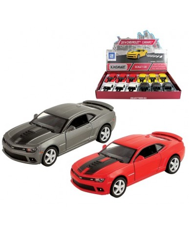 "5"" Die Cast 2014 Chevy Camaro with Stripes"