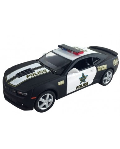 "5"" Die Cast 2014 Chevy Camaro Police Car"