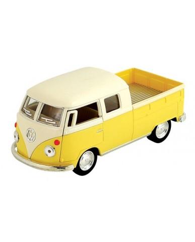 """5"""" Die Cast Pastel 1963 VW Bus Double Cab Pickup"""