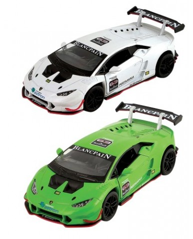 "5"" Die Cast Lamborghini Huracan LP 620-2 Super Trofeo"