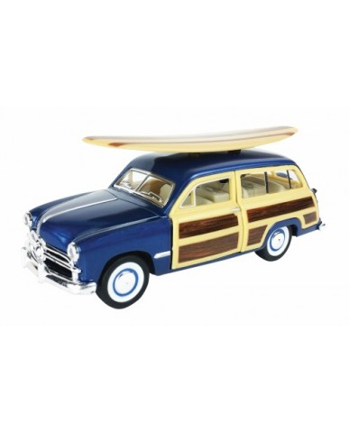 "5"" 1949 Ford Woody Wagon w/ Surf Board"