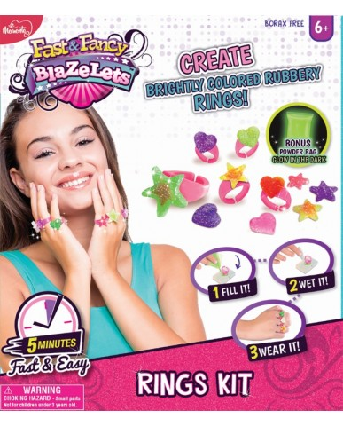 Blazelets Rings Jewelry Making Kit