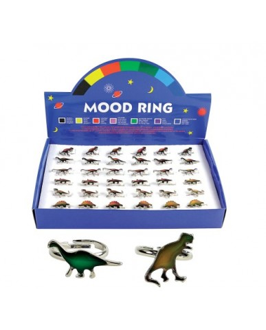 Dinosaur Mood Rings