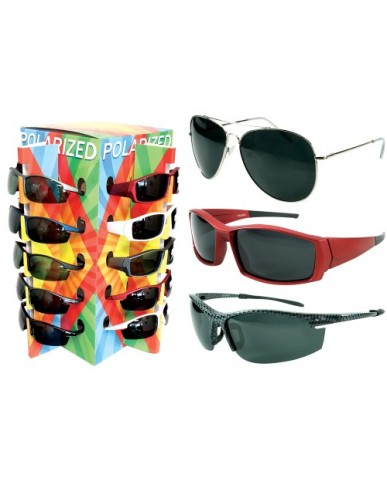 36 pc. Polarized Adult Sunglasses with Display