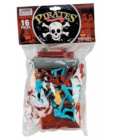 16-pc. Pirate Figures Play Set