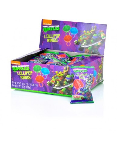 TMNT Lollipop Rings