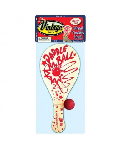 Wood Paddle Ball