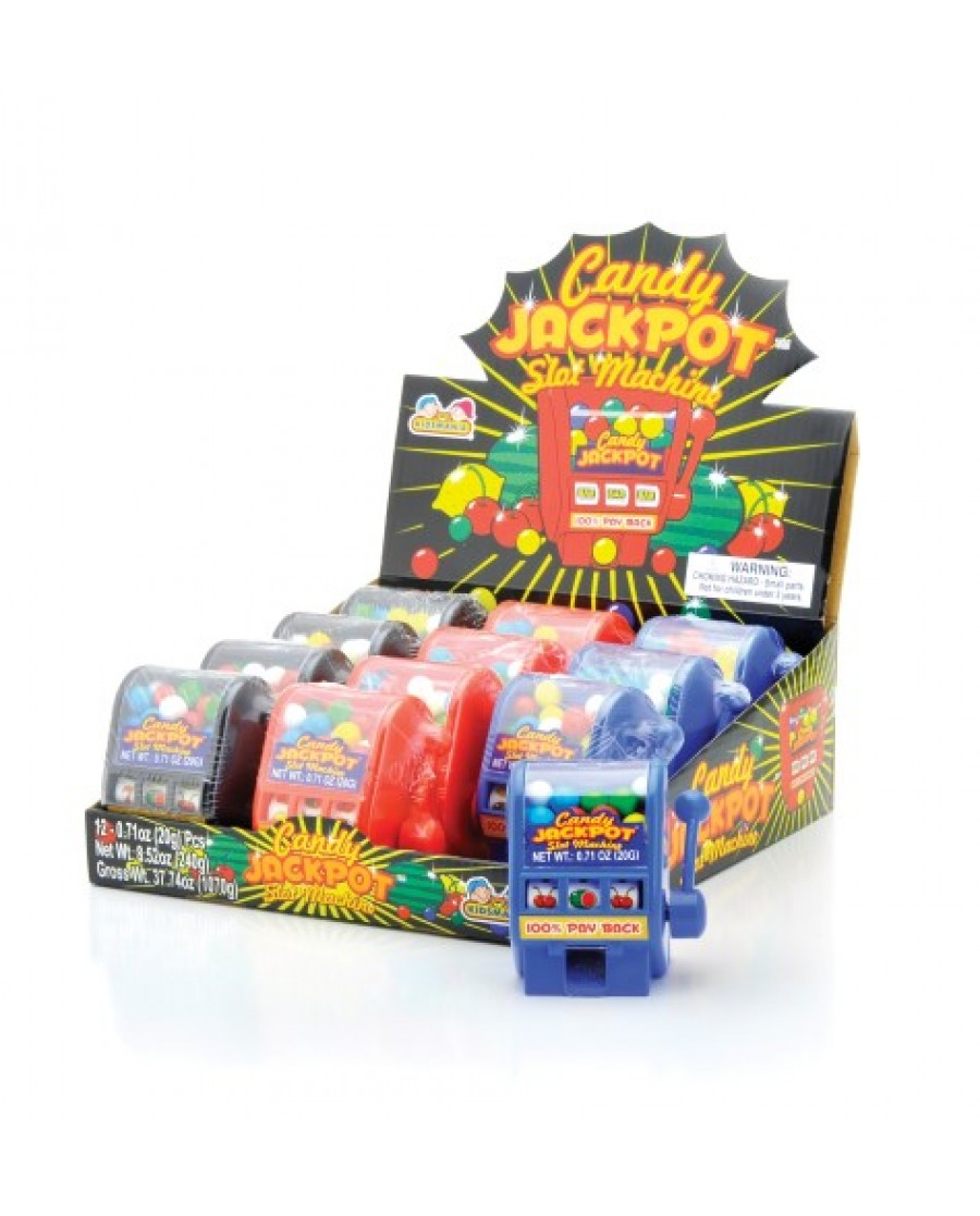 Jackpot Slot Machine Candy