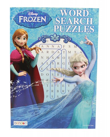 Disney Frozen Word Search Puzzles