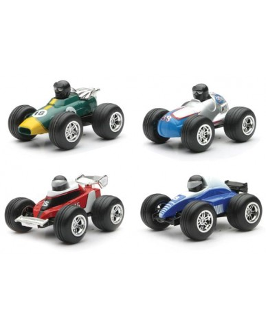 "3"" Mini Pull Back Formula 1 Racers"