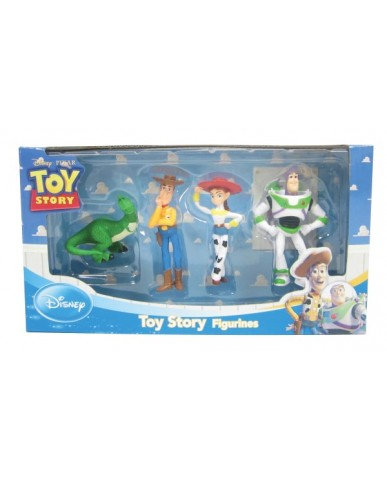 4-PK Disney Figurines: Toy Story