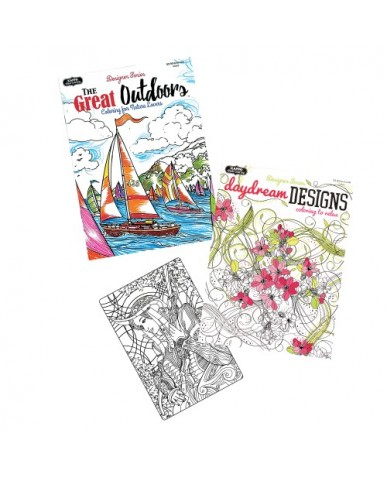 Daydream Designs & The Great Outdoors Adult Coloring Books