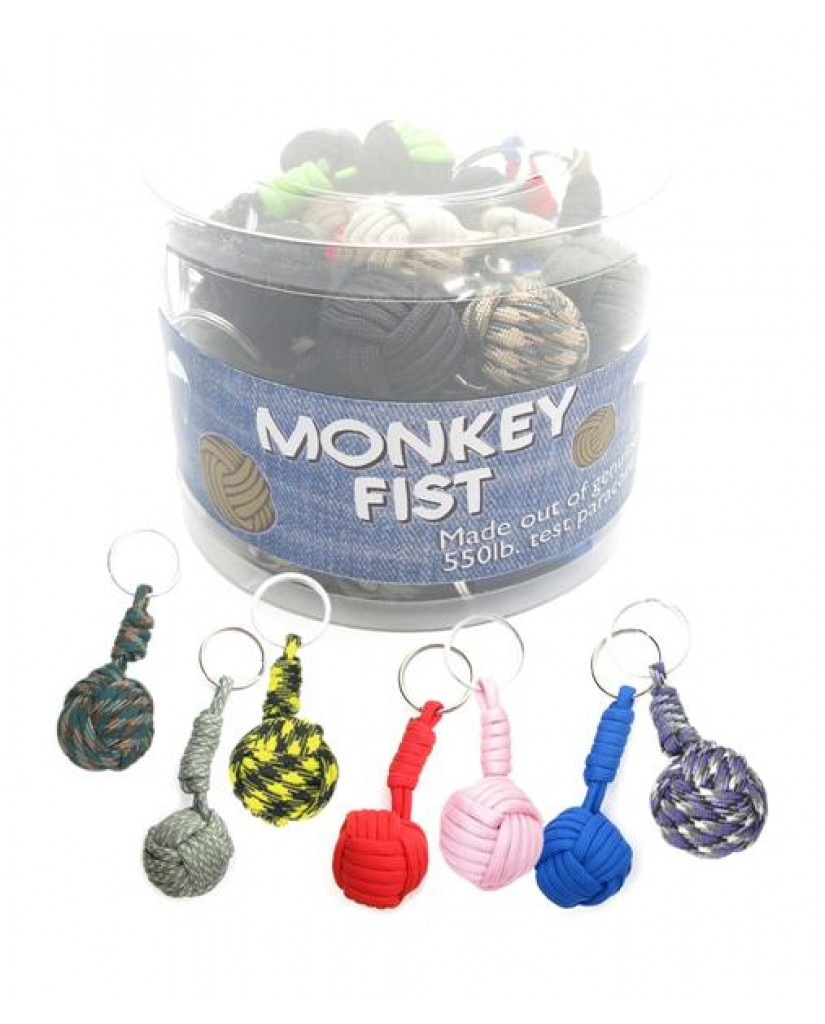 "Paracord ""Monkey Fist"" Key Rings"