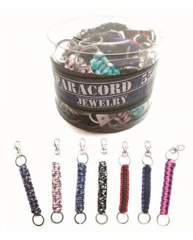 Assorted Paracord Key Chains