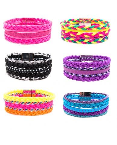 5-Row Friendship Bracelet