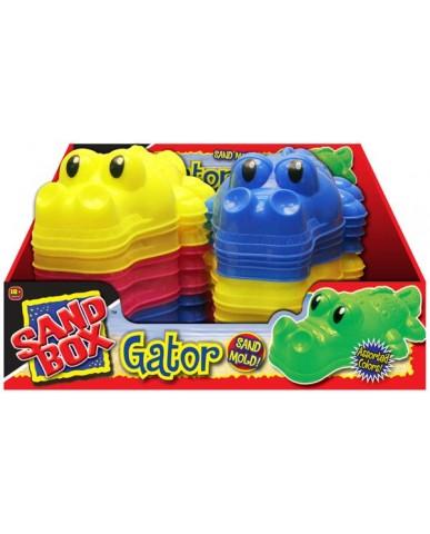 "10.5"" Gator Sand Mold"