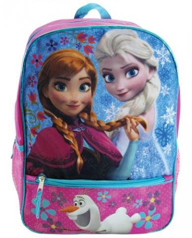 """Disney Frozen 16"""" Half Moon Backpack"""