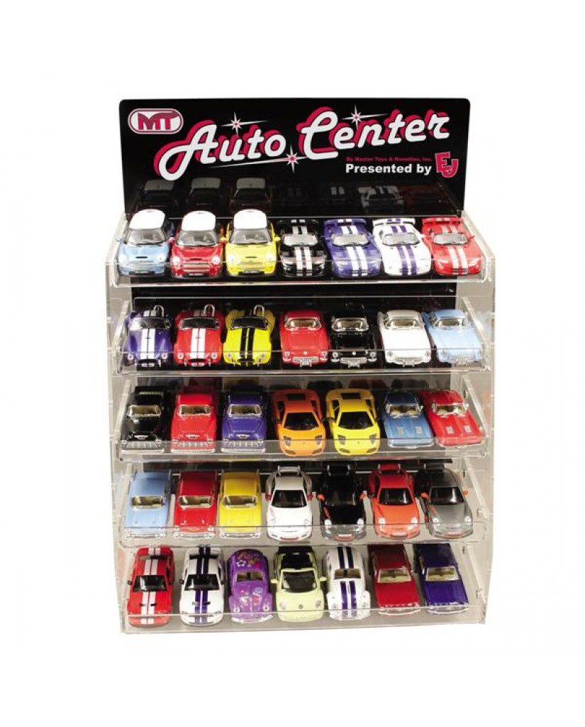132 PC of 1:36 & 1:38 Scale Die Cast Car Assortment (Classic & Sporty Cars & Pickups)
