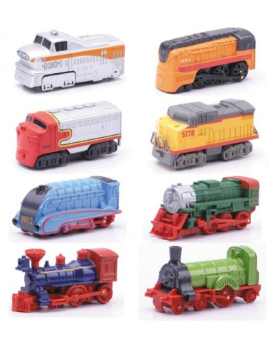"3"" Mini Pull Back Locomotives"