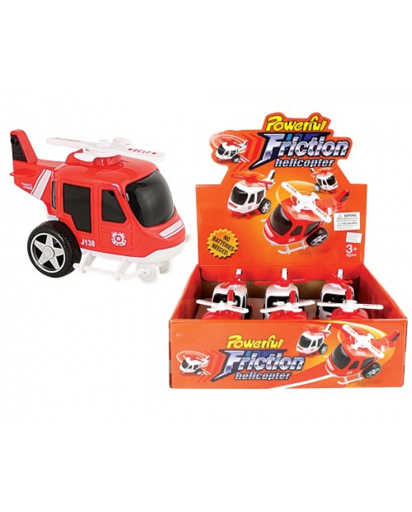 """5"""" Friction Powered Big Helicopter"""