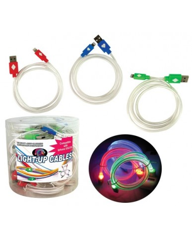 Light-Up USB Cable for iPhone 5/6