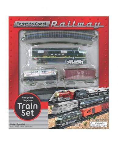 Coast to Coast Railway Play Set