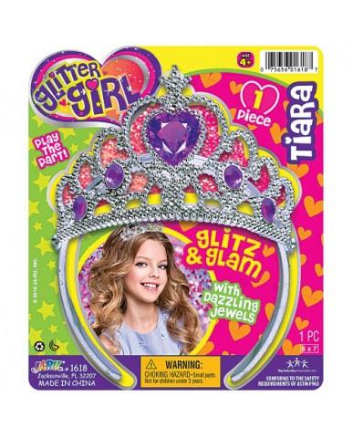 Glitter Girl Princess Tiara