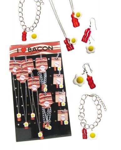 54pc Bacon & Egg Jewelry Assortment