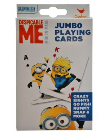 Minions Jumbo Playing Cards