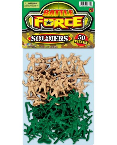 50 Army Soldiers