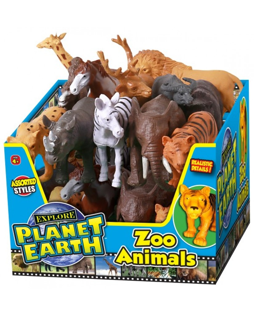 "4"" - 6"" Planet Earth Zoo Animals"