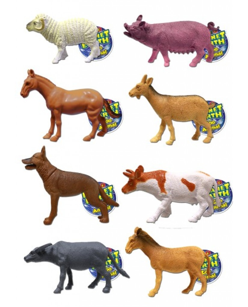 "4"" - 5"" Planet Earth Farm Animals"
