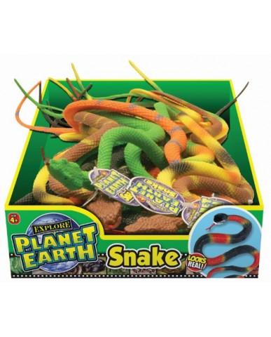 "15"" Planet Earth Rubber Snake"