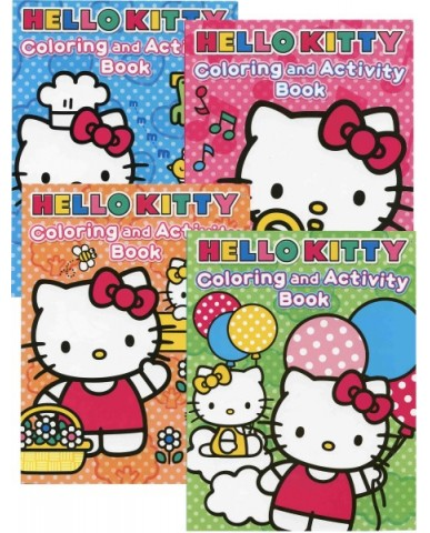 Hello Kitty Coloring & Activity Books