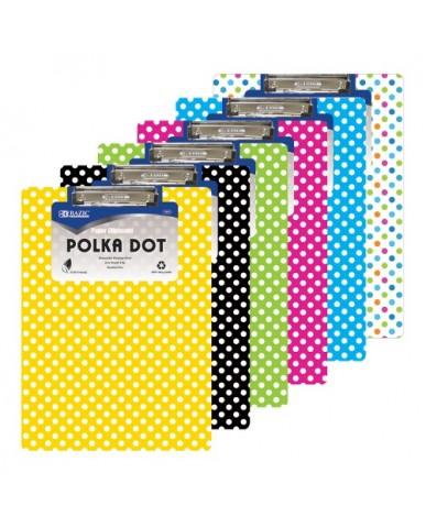 Polka Dot Clipboard