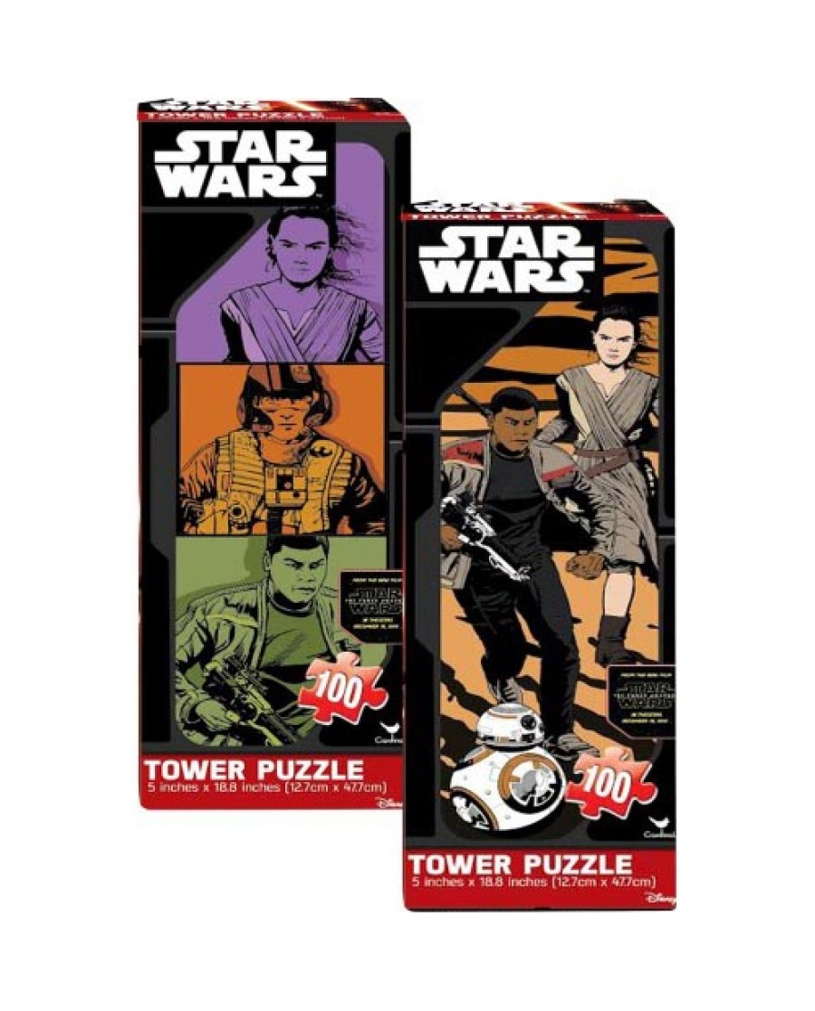 Star Wars Ep. 7 100-pc Tower Puzzle