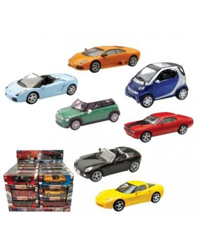 "4.5"" Sporty Car Assortment"