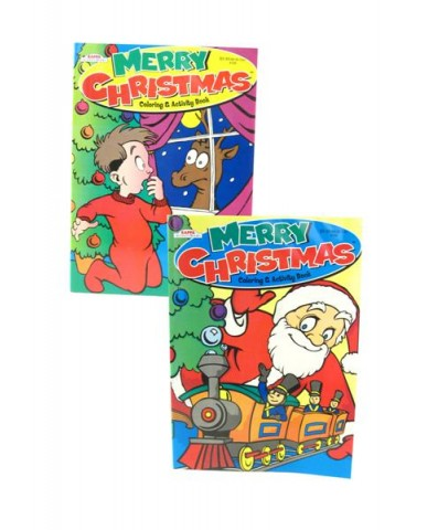 96 pg Christmas Coloring Books
