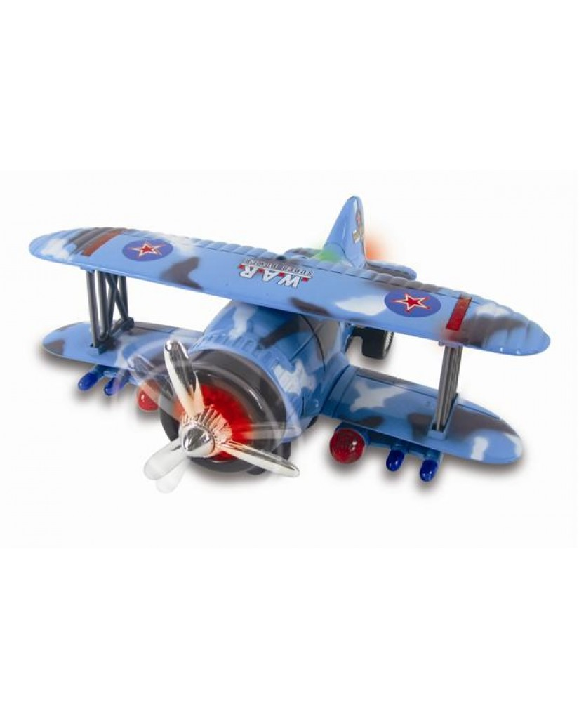 "10.5"" Stunt Action Bi-Plane"