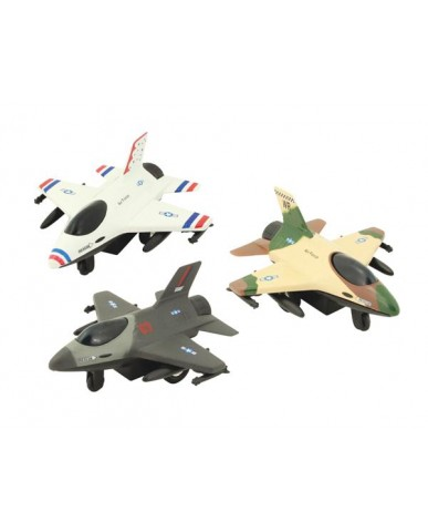 "4"" Chunky Military Jet"