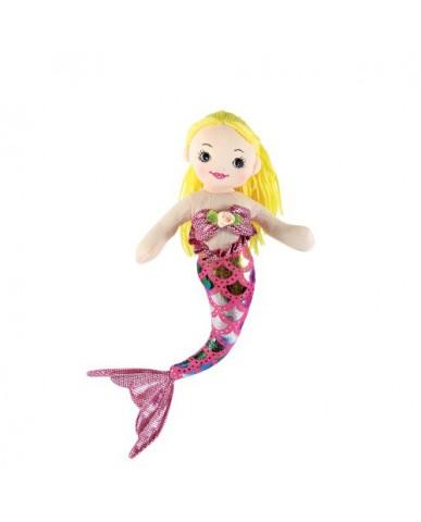 """12"""" Mermaid with Blonde Hair"""