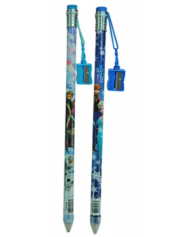 "Disney Frozen 15"" Frozen Jumbo Pencil with Sharpener"