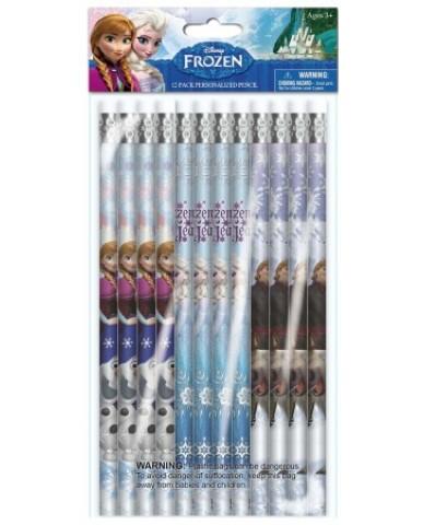 Frozen 12-Pack Wood Pencils