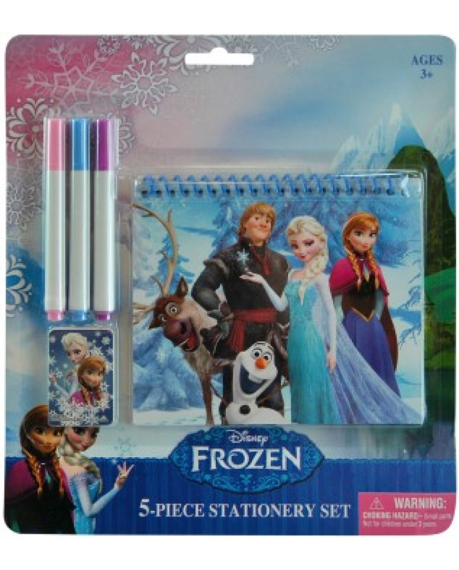 5 PC Disney Frozen Dri-Erase Set